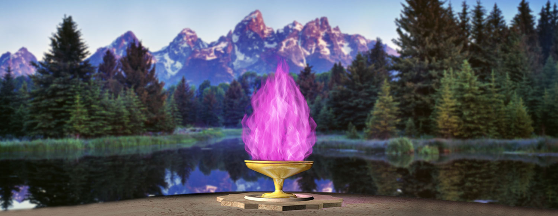 Resultado de imagen de fuego violeta