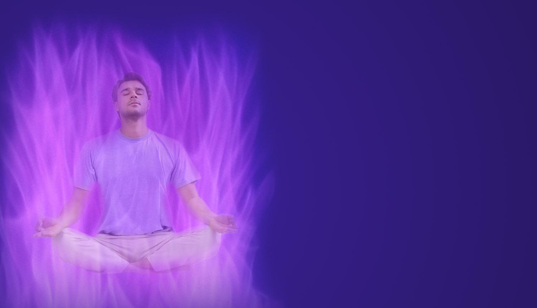 Meditando en la Llama Violeta