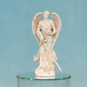 Estatua Arcángel Zadkiel resina