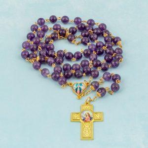 Rosario Madre María amatistas